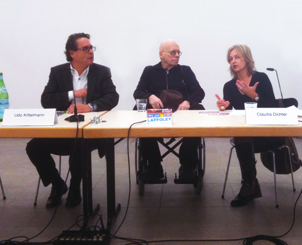 Berlin panel discussion, 2011