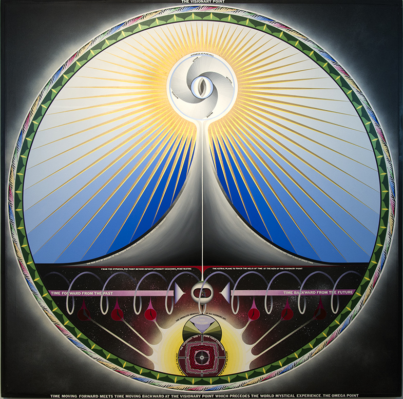 THE VISIONARY POINT, 1970