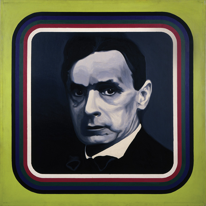 PORTRAIT OF RUDOLF STEINER, 1965
